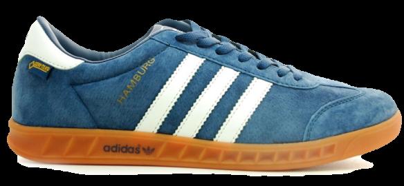 Adidas Hamburg Голубые