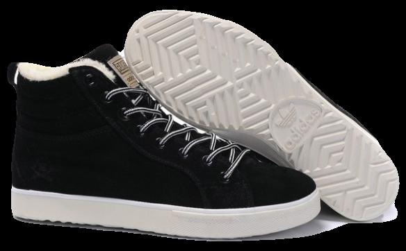 Adidas Ransom С натуральным мехом черные