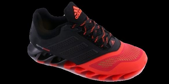Adidas Springblade Черно-Красные