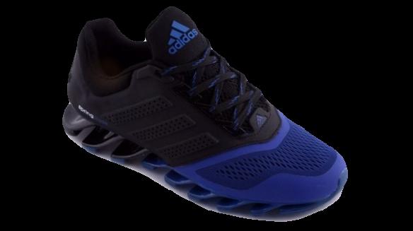Adidas Springblade Черно-Синие