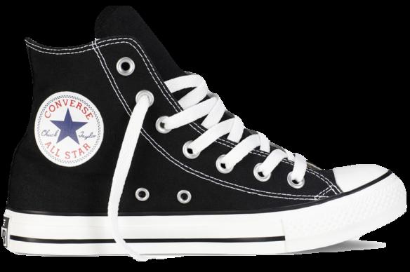 Converse All Star Высокие черные