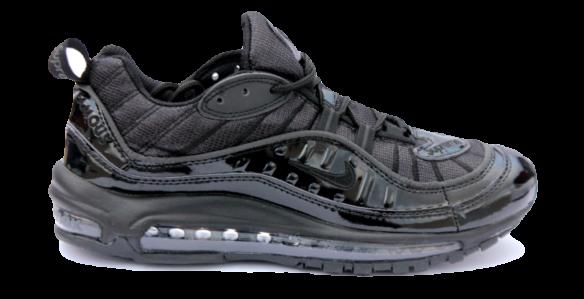 Nike Air Max 98 x Supreme Черные
