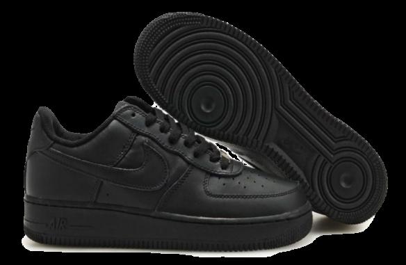 Nike Air Force 1 Low Черные