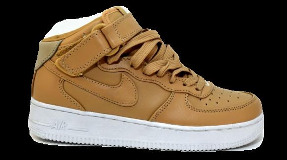 Nike Air Force Mid Коричневые