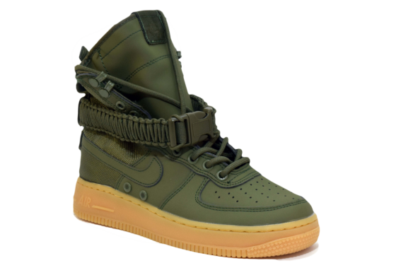 Nike SF AF1 Special Field Air Force 1 Зеленые