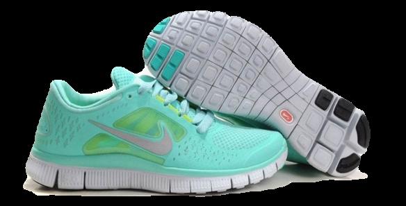 Nike Free Run 5.0 v3 Женские бирюзовые