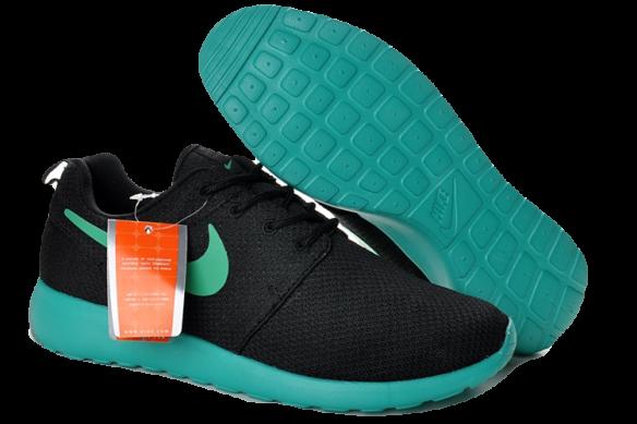 Nike Roshe Run Женские черные