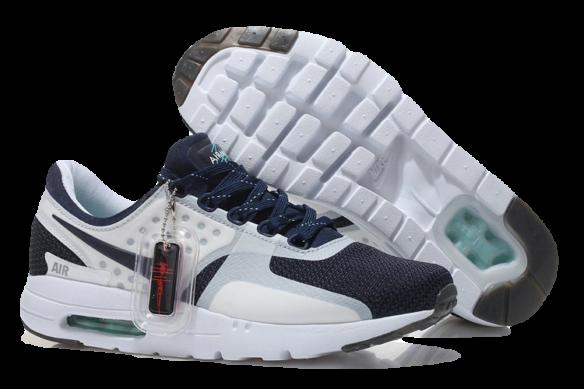 Nike Air Max Zero Бело-Черные