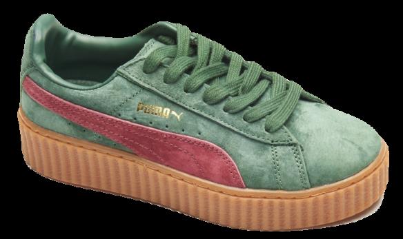 Puma Creepers by Rihanna зеленые