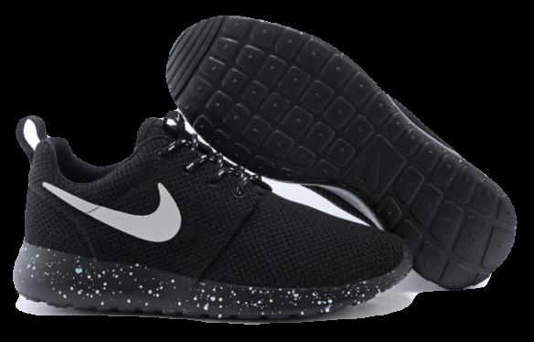 Nike Roshe Run Унисекс черные