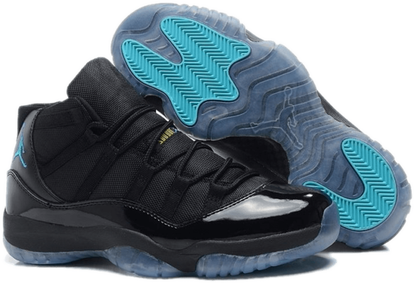 Nike Air Jordan 11 «Gamma Blue» Черные