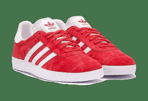 Adidas Gazelle OG Замшевые красные с белым
