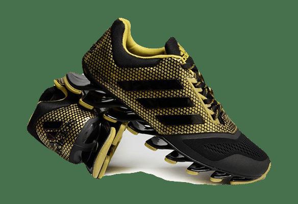 Adidas Springblade (Black/Gold)