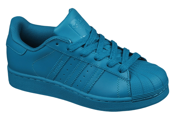 Adidas Superstar Кожаные темно-бирюзовые