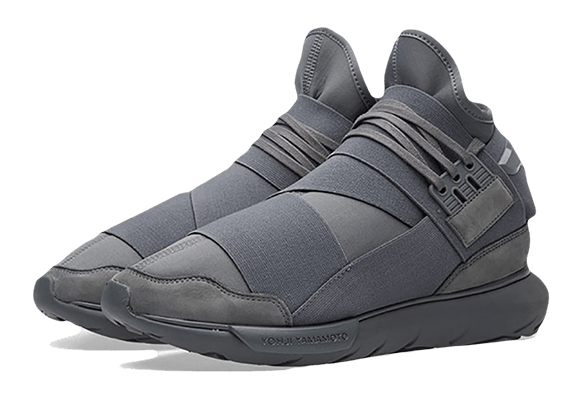Adidas Y-3 Qasa High Серые