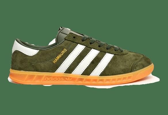 Adidas Hamburg Темно-зеленые