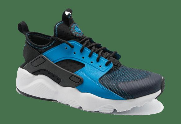 Nike Air Huarache Ultra темно-синие с голубым