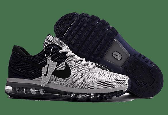 Nike Air Max 2017 сетка черно-серые