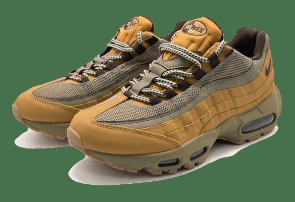 Nike Air Max 95 песочные с серым
