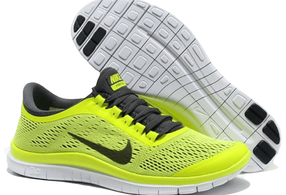 Nike Free Run 3.0 V5 желтые