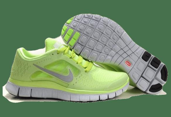 Nike Free Run 3.0 светло-салатовые