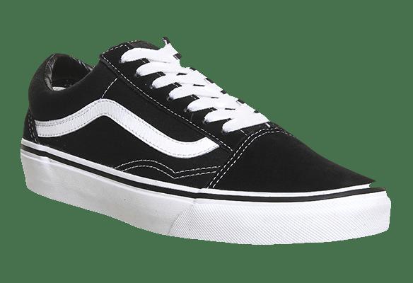 Vans Old School Черно-белые