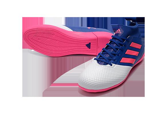 Adidas Ace 17.3 Primemesh IC Синие с Розовым