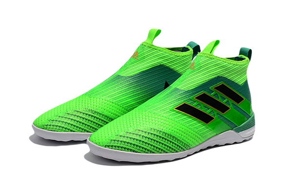 Adidas Ace Tango 17+ Purecontrol IN/IC Зеленые