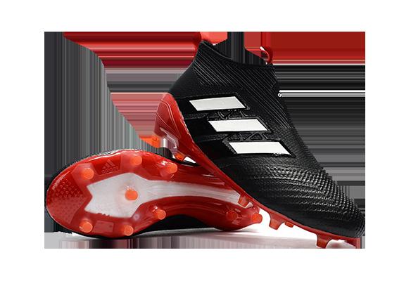 Adidas Ace 17+ Purecontrol FG Черные с Красным