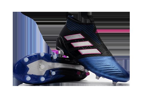 Adidas Ace 17+ Purecontrol FG Синие с Черным