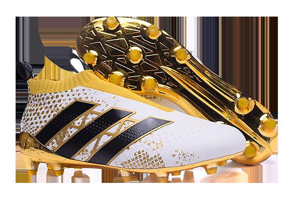 Adidas Ace16+ Purecontrol белые с золотым