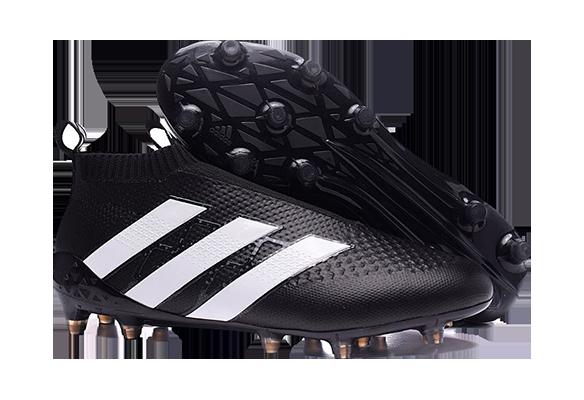Adidas Ace16+ Purecontrol Черные с Белым