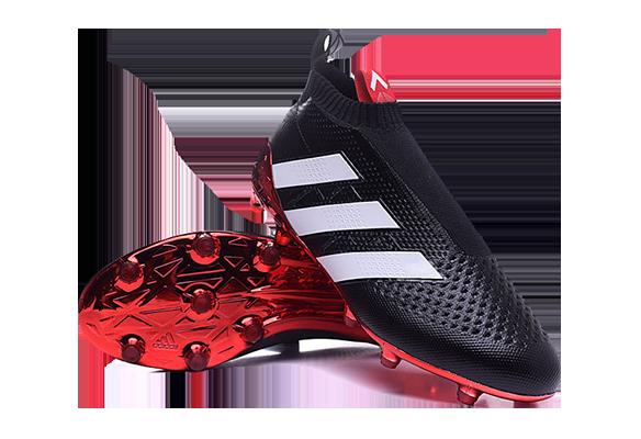 Adidas Ace16+ Purecontrol Черные с Красным
