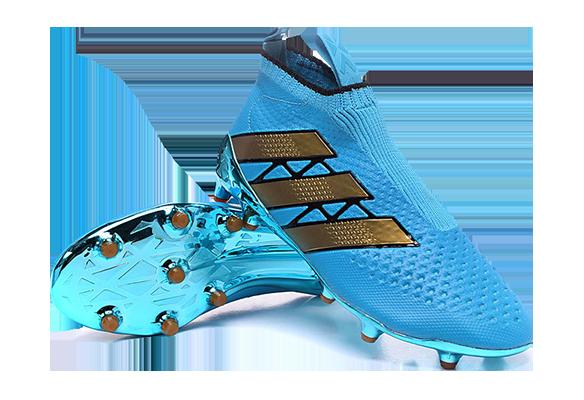 Adidas Ace16+ Purecontrol Голубые