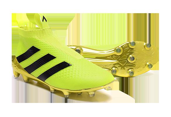 Adidas Ace16+ Purecontrol Салатовые с Черным