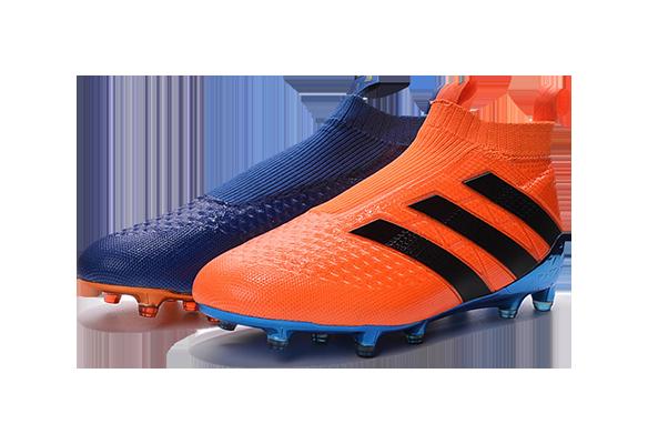Adidas Ace16+ Purecontrol Сине-оранжевые