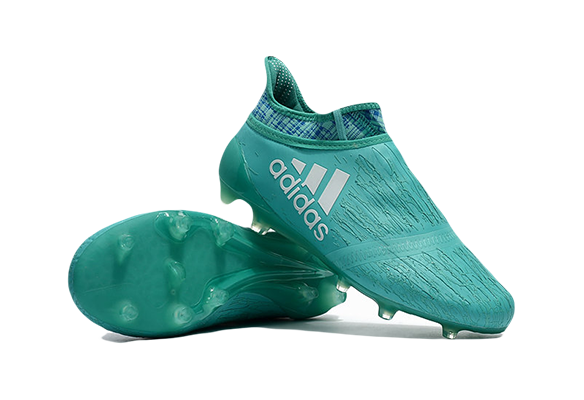 Adidas X 16+ Purechaos FG/AG Бирюзовые