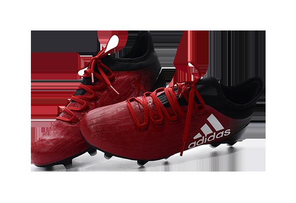 Adidas X 16 Красно-Черные