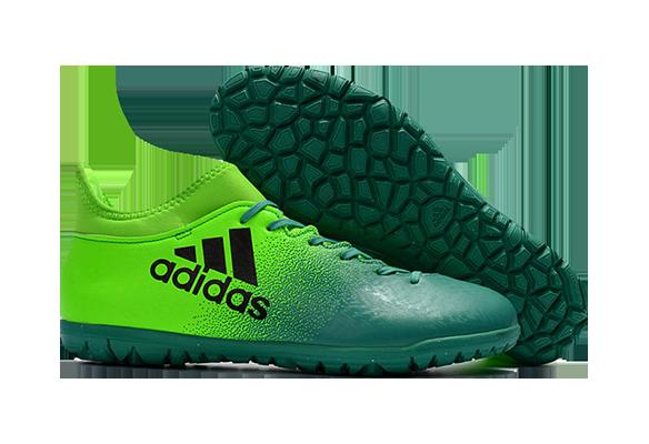 Adidas X 16.3 TF Зеленые