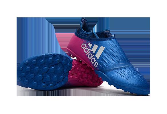 Adidas X Tango 16+ Purechaos TF Синие с Розовым