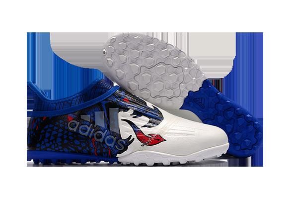 Adidas X Tango 16+ Purechaos TF Синие с Белым