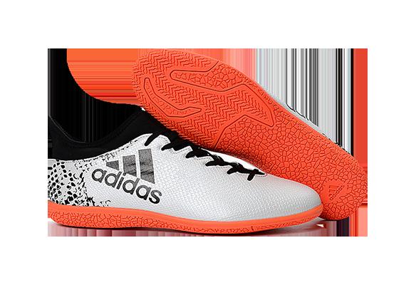 Adidas X 16.3 IC Бело-оранжевые