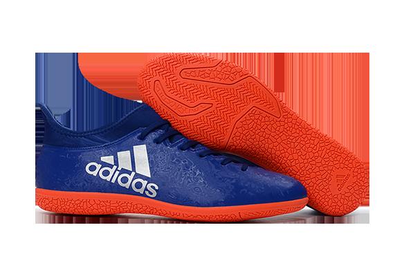 Adidas X 16.3 IC Синие с Оранжевым