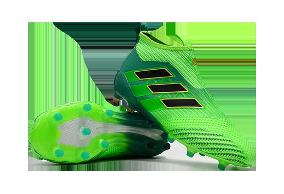 Adidas Ace 17+ Purecontrol FG Зеленые
