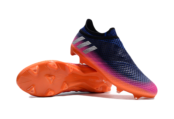 Adidas Messi 16+ Pureagility FG Синие с Оранжевым