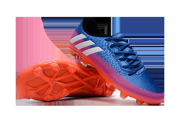 Adidas Messi 16.3 FG Синие с Оранжевым