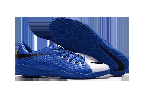 Nike Hypervenom IC Синие с Белым