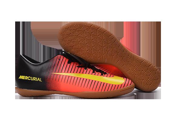 Nike Mercurial Superfly V IC Черные с Оранжевым
