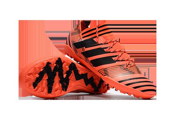 Adidas Nemeziz 17.1 TF Оранжевые с Черным