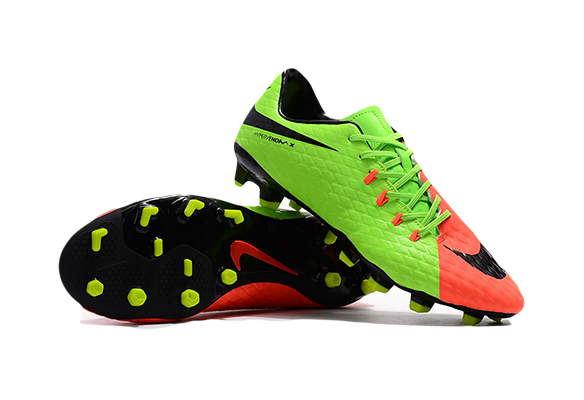 Nike Hypervenom 3 FG Салатовые с Оранжевым